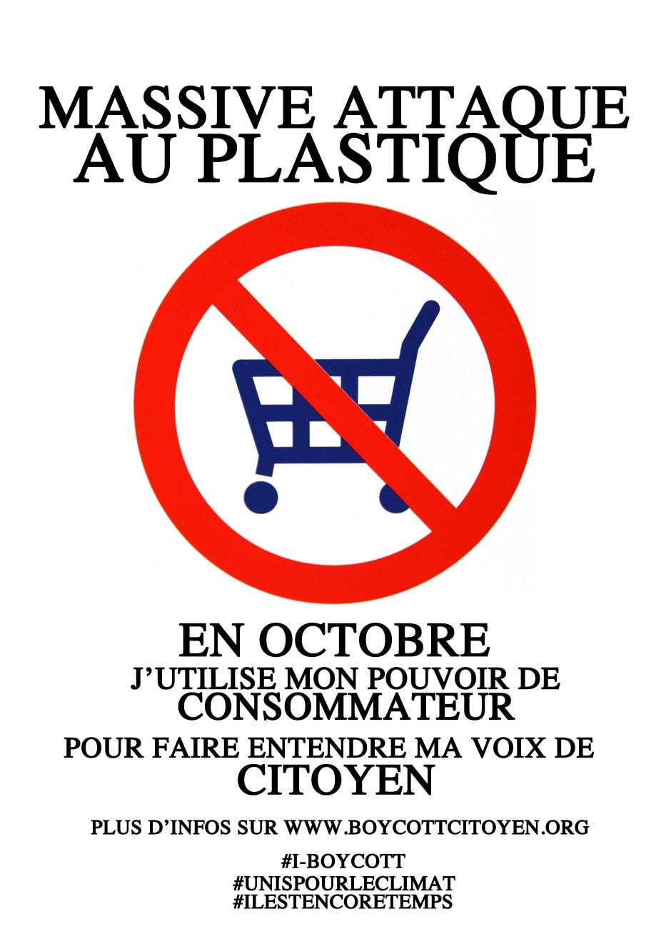 affiche plastique octobre