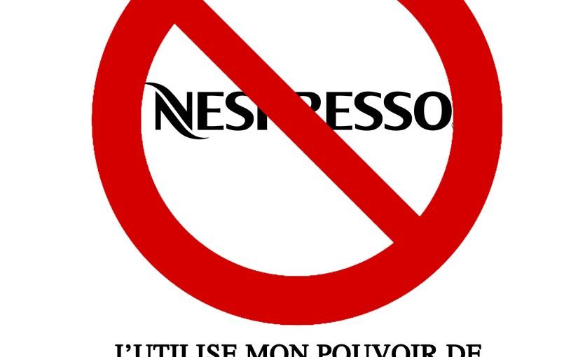 Cible numéro 3 :Nespresso