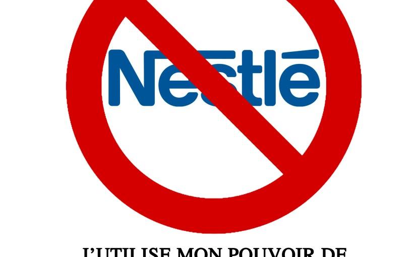 Cible numéro 10 :Nestlé