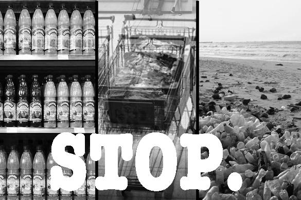 Ne produisez plus de plastique à usage unique, nous n'en voulons plus (et nous vous laisseronstout)