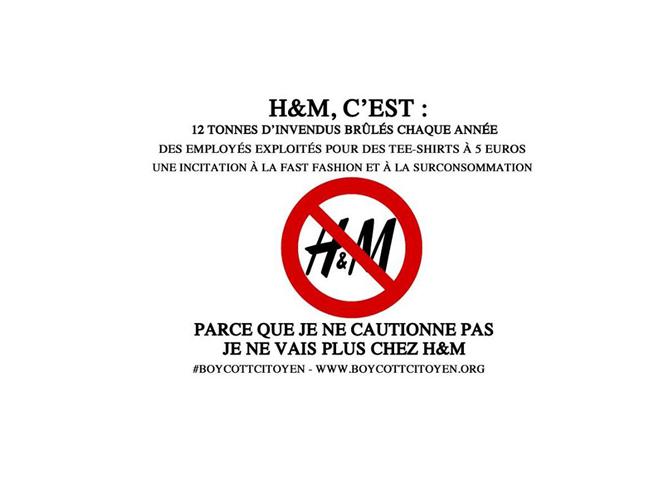 La fast fashion, ce concept démodé#boycottH&M