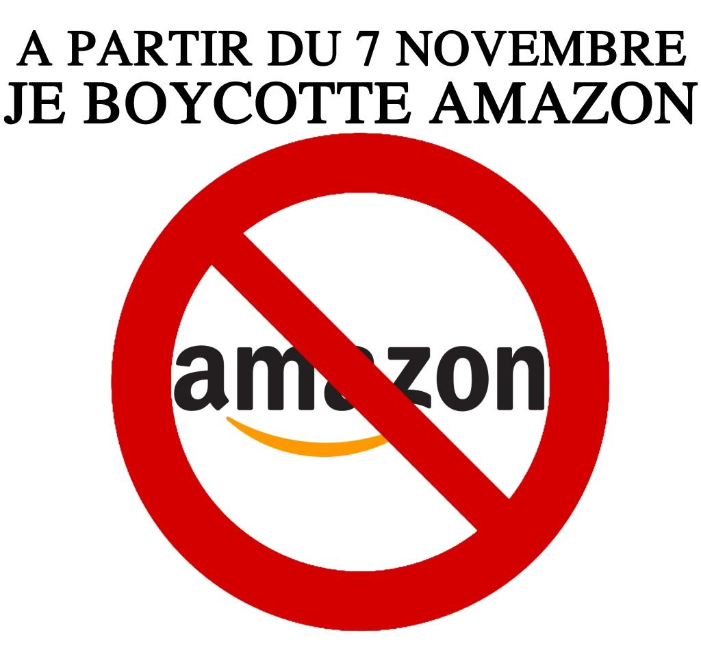 Boycott DAmazon Hier Aujourdhui Et A Jamais Citoyen