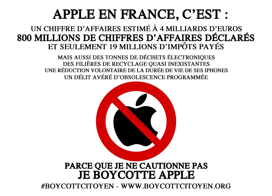 affichette apple