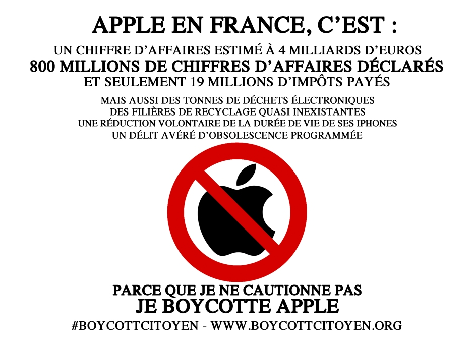 affichette apple