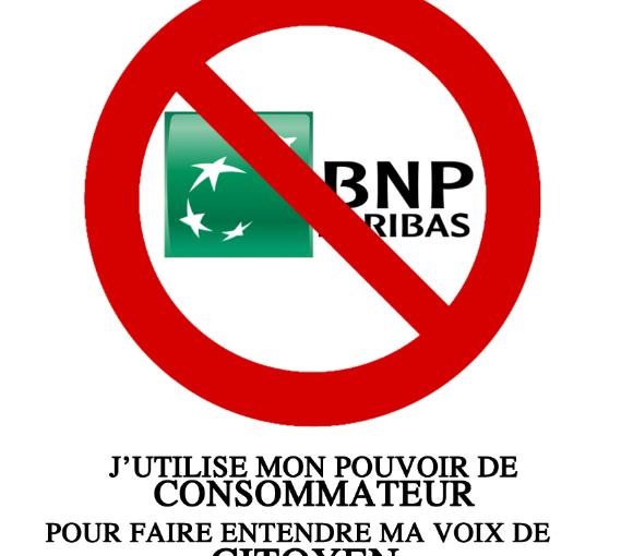 «Cher BNP Paribas…» : vous avez changé de banque ? Faites-le leur savoir!