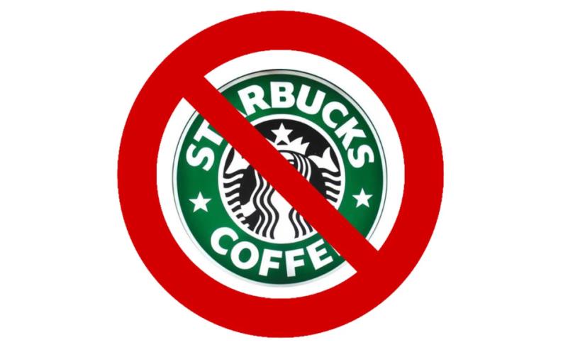 Starbucks abuse du plastique et ne paie pas sa juste part d'impôts ? Nous ne boirons plus son café!