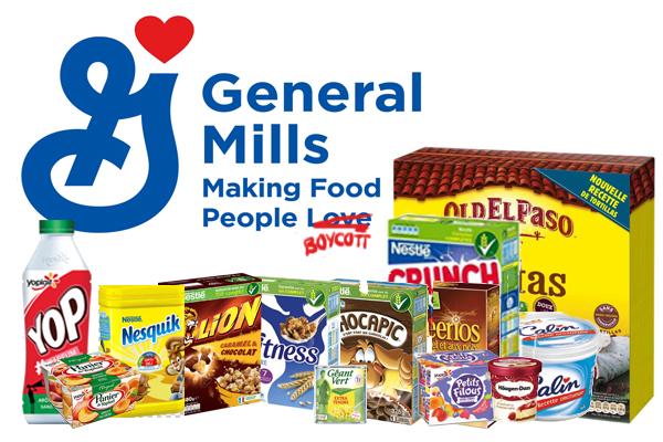 Boycott de l'huile de palme : General Mills, les marques àéviter