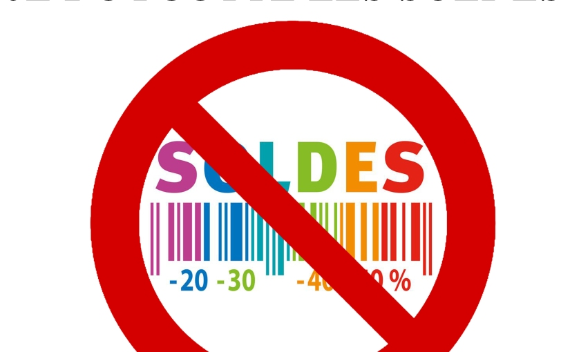 En janvier, boycottons les soldes des grandesenseignes