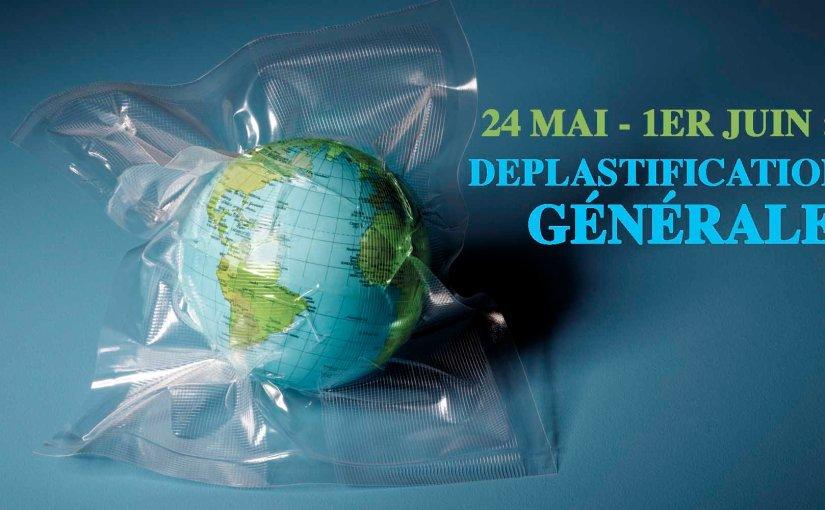 Du 24 mai au 1er juin, les citoyens entrent en résistance contre leplastique