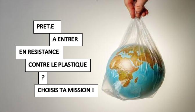 Vous voulez entrer en résistance contre le plastique ? Choisissez votre mission!